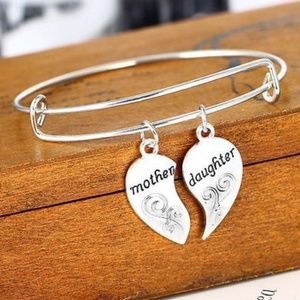 2 for $15 👸 Mom & Daughter Bangle Bracelet